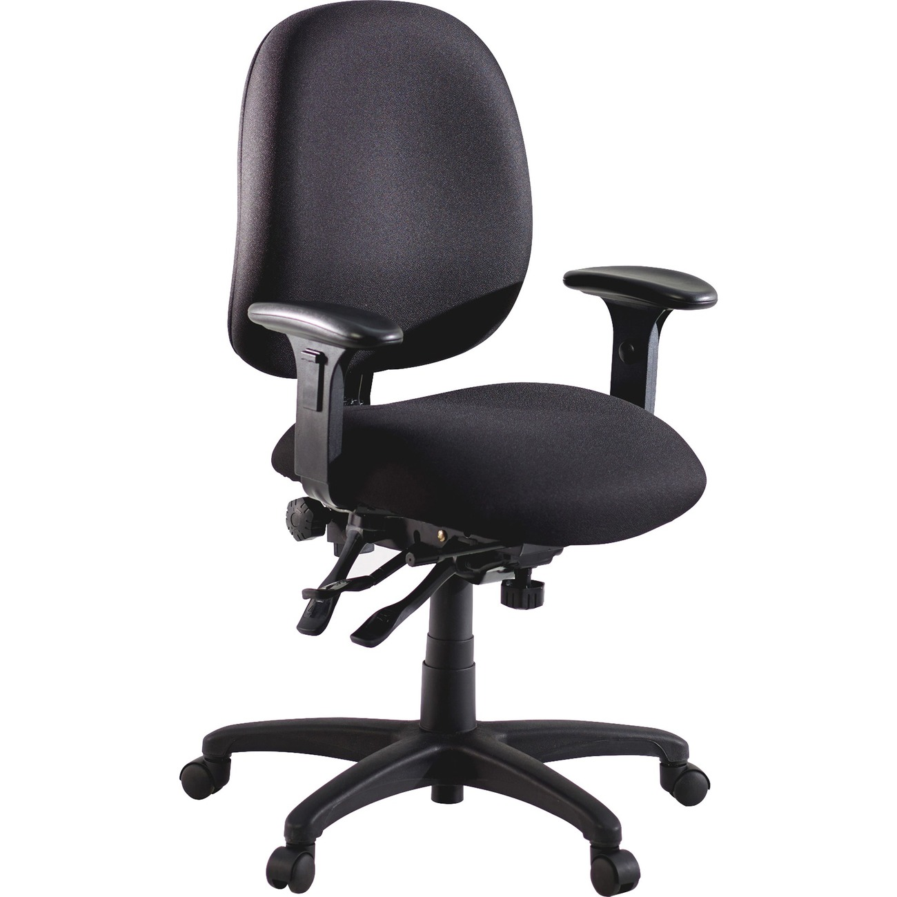 High Performance Ergonomic Task Chair With Contoured Seat And Back ...