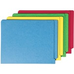 Colored End Tab File Folders