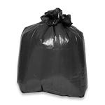 Genuine Joe 03339 Linear Low Density Convenient Pack Can Liners, Black