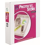 Avery Protect & Store Durable View Binders with Slant Rings