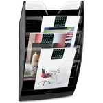 Cep1530021 Cep Crystal Dividers Wall Display Rack 6 Compartment S 5 Divider S White Polystyrene 1each Office Supply Hut