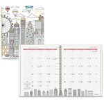 At-A-Glance Cityscape Academic Professional Monthly Planner