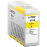 Epson UltraChrome HD T850 Original Ink Cartridge - Yellow