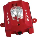 Bosch SS-P2RK Two-Wire, Wall-Mount Outdoor Horn Strobe (Red)