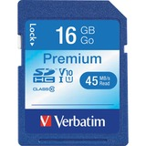 Verbatim 16GB Secure Digital High Capacity (SDHC) Card - Class 6 - 120x