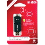 IMN29613 - Imation 2-in-1 Micro USB Flash Drive