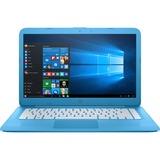 HP Stream 14-ax000 14-ax010nr 14'' LCD 16:9 Notebook - 1366 x 768 - BrightView - Intel Celeron N3060