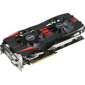 Asus R9280X-DC2T-3GD5 Radeon R9 280X Graphic Card - 1070 MHz Core - 3 GB GDDR5 SDRAM - PCI Express 3.0
