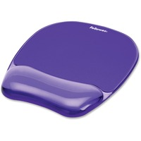 Fellowes Gel Crystals? Mousepad/Wrist Rest - Purple (077511914416 Technology Computer Accessories) photo