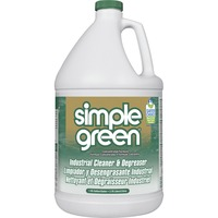 Uncluttered Green Industrial Cleaner/Degreaser