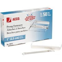 ACCO Premium Prong Fastener for Standard 2 Hole Punch 2 34inch Centers ACC70012