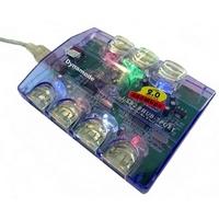Dynamode USB-H70-1A2.0 USB Hub - USB - External - 7 Total USB Port(s) - 7 USB 2.0 Port(s)