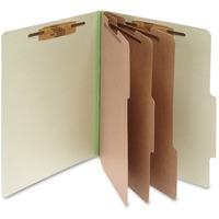 ACCO Pressboard 8 Part Classification Folders Letter Green Box of 1 ACC15048