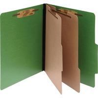 ACCO ColorLife PRESSTEX 6 Part Classification Folders Legal Dark ACC16665