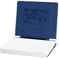 ACCO PRESSTEX Covers w Hooks Unburst 11inch x 8 12inch Sheets Dark Blu ACC54123
