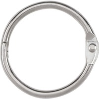 ACCO Loose Leaf Rings 1inch Capacity Silver 100Box ACC72202