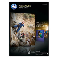 HP Q8698A Photo Paper - A4 - 210 mm x 297 mm - Glossy - 50 x Sheet