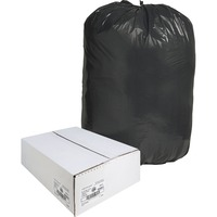 Nature Saver Black Low-density Recycled Can Liners - Extra Large