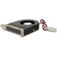 StarTech.com Expansion Slot Rear Exhaust Cooling Fan with LP4 Connector - 2200 rpm Ball Bearing