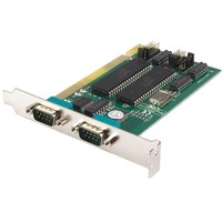 StarTech.com 2 Port ISA RS232 Serial Adapter Card with 16550 UART - 2 x 9-pin DB-9 Male RS-232 Serial ISA