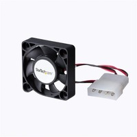 StarTech.com 40x10mm Replacement Dual Ball Bearing Computer Case Fan w/ LP4 - 40 mm - 5000 rpm Ball Bearing