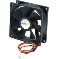 StarTech.com 92x25mm Ball Bearing Quiet Computer Case Fan w/ TX3 Connector - 92 mm - 1600 rpm Dual Ball Bearing