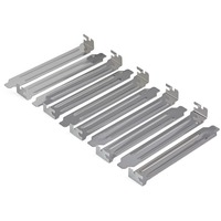 StarTech.com Steel Full Profile Expansion Slot Cover Plate - 10 Pack - Silver - 10 Pack