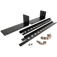 StarTech.com 1U Rackmount Brackets for KVM Switch (SV431 Series) - Black