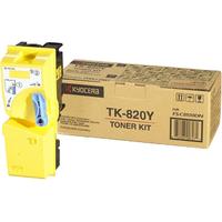 Kyocera Mita TK 820Y Toner Cartridge - Yellow