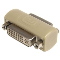 StarTech.com DVI-I Coupler / Gender Changer - F/F - 1 x DVI-I Female Video - 1 x DVI-I Female Video