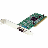 StarTech.com 1 Port PCI RS232 Serial Adapter Card w/ 16950 UART - Dual Voltage - RS-232 Dual Voltage / Dual Profile Serial Card - Serial adapter - PCI-X low profile