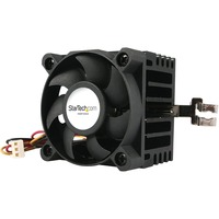StarTech.com 50x50x41mm Socket 7/370 CPU Cooler Fan w/ Heatsink and TX3 and LP5 - 4500 rpm Ball Bearing