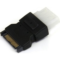 StarTech.com SATA to LP4 Power Cable Adapter - 1 x Male SATA - 1 x LP4 Female Power - Black