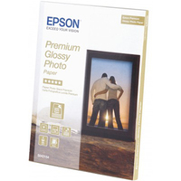 Epson Premium C13S042154 Photo Paper - 130 mm x 180 mm - Glossy - 30 x Sheet