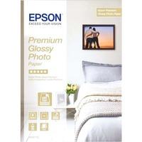 Epson Premium C13S042155 Photo Paper - A4 - 210 mm x 297 mm - Glossy - 15 x Sheet