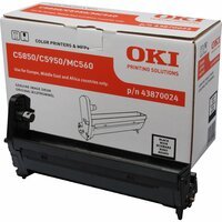 Oki 43870024 LED Imaging Drum - Black