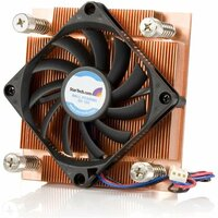 StarTech.com 1U Low Profile 70mm Socket 775 CPU Cooler Fan w/ Heatsink & TX3 - 1 x 70 mm - 4500 rpm Dual Ball Bearing