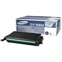 Samsung CLP-K660A Toner Cartridge - Black