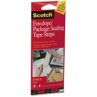 3M Scotch Package Sealing Tape Sheets 2inch x 6inch MMM3750P2CR