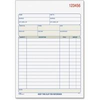 TOPS 3-part/15-item Sales Order Book