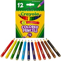 Crayola 12 Color Colored Pencils 68-4112