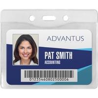 Advantus Horizontal Security Badge Holder AVT75411