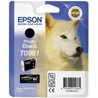 Epson UltraChrome T0961 Ink Cartridge - Black
