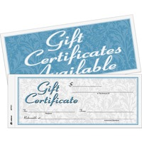 Adams Two part Carbonless Gift Certificates ABFGFTC1