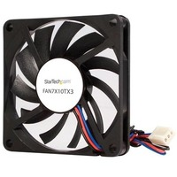 StarTech.com Replacement 70mm TX3 Dual Ball Bearing CPU Cooler Fan - 70 mm - 3500 rpm Dual Ball Bearing