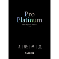 Canon Pro Platinum 2768B016 Photo Paper - A4 - 210 mm x 297 mm - 20 x Sheet