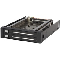 StarTech.com 2 Drive 2.5in Trayless Hot Swap SATA Mobile Rack Backplane - 2 x Total Bay - 2 x 2.5 Bay