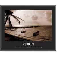 Advantus Sepia tone Motivational Vision Poster AVT78163