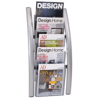 Alba 5 Pocket Wall Literature Rack ABADDICE5M