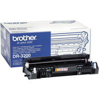 Brother DR-3200 Laser Imaging Drum for Printer - 25000 Page - 1 Pack - OEM